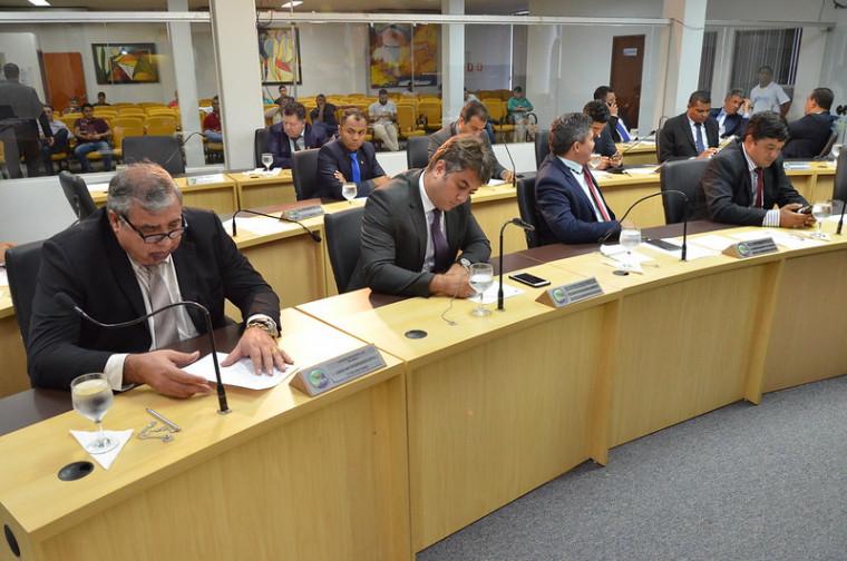 Plenário da Câmara Municipal de Palmas