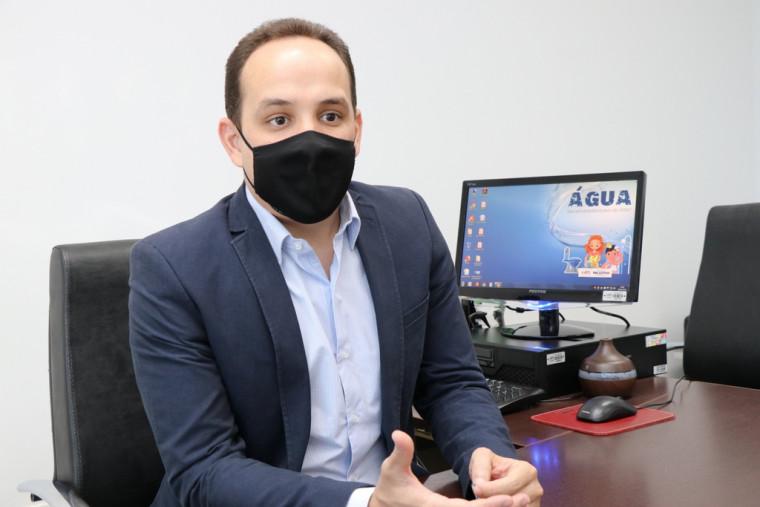 O presidente da ATS Davi Goveia Júnior, falou sobre a importância do uso consciente desse recurso