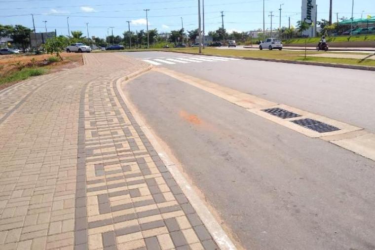 Via Lago, cartão postal de Araguaína
