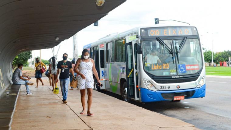 Transporte público de Palmas já pode circular com 100% da capacidade