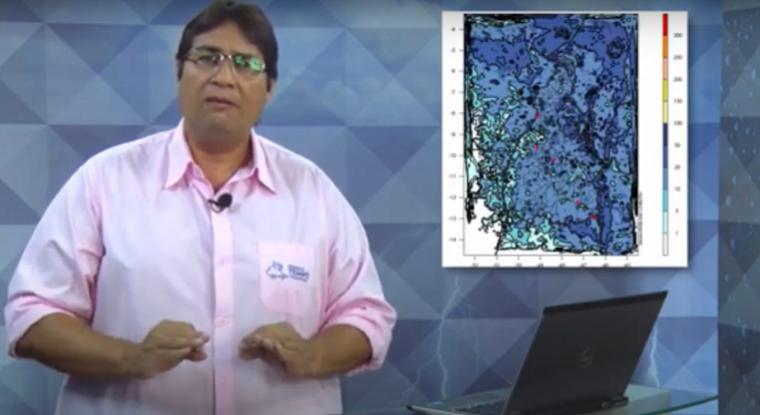 Professor Cabral fala sobre previsão de chuvas
