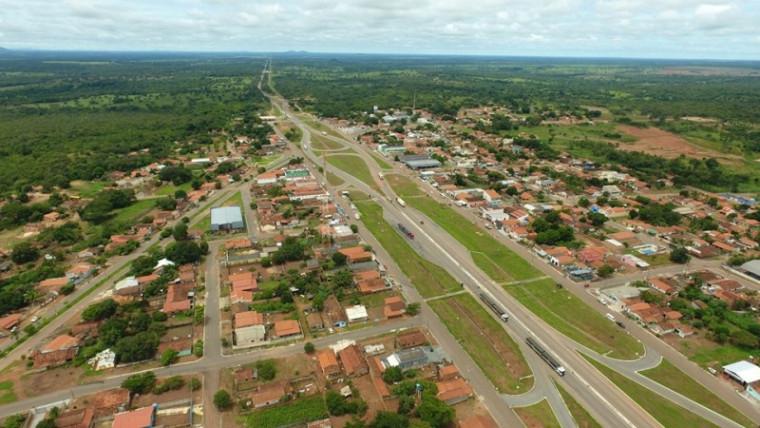 Vista aérea da cidade de Fátima