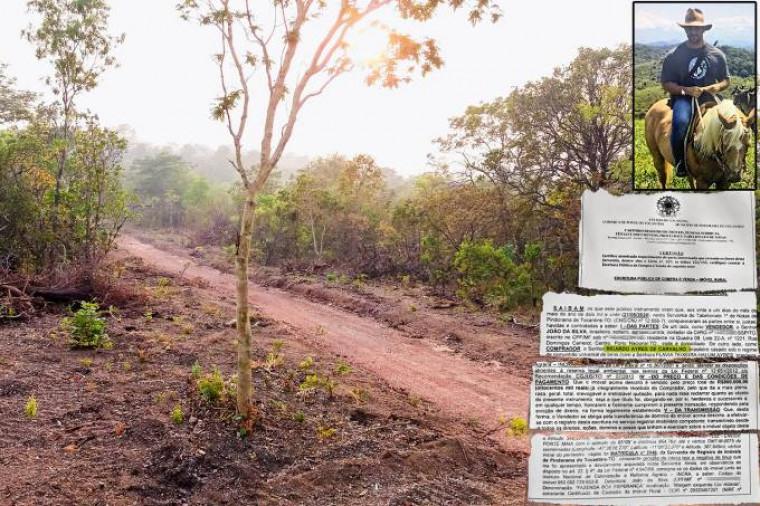 Fazenda que era do ex-policial fica em Pindorama