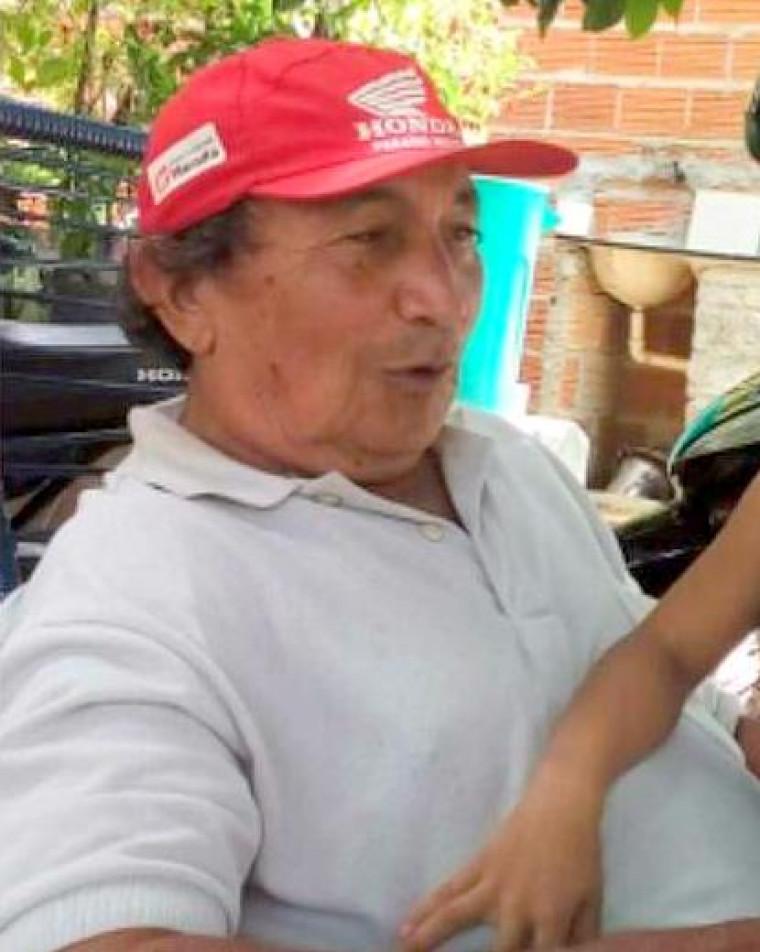 José Pereira da Silva, conhecido popularmente como 'Zé Macaúba', morreu no local