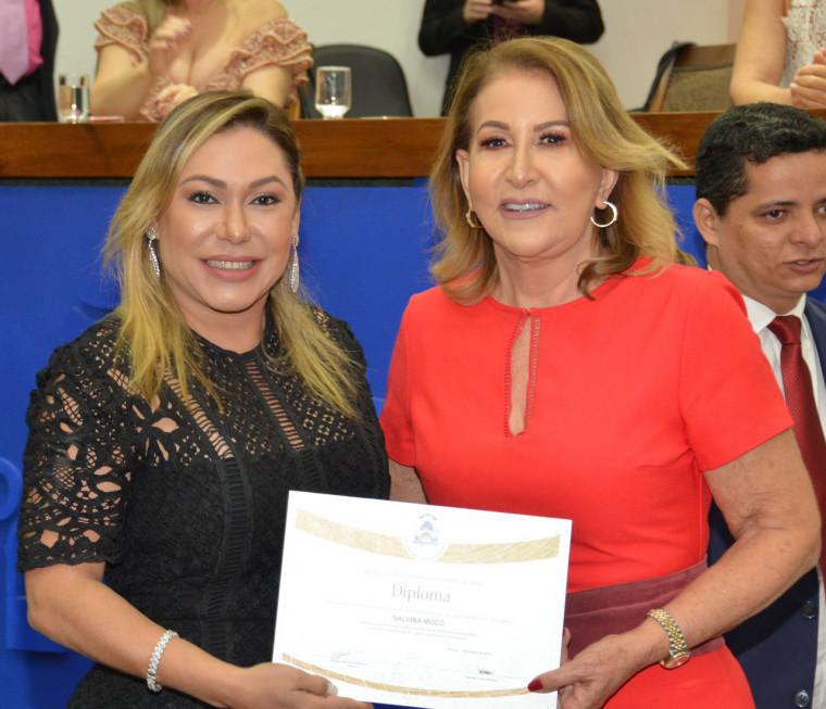 Salvina Mocó e Luana Ribeiro
