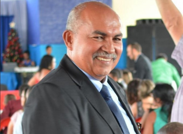 Joaquim Urcino Ferreira, prefeito de Chapada de Natividade