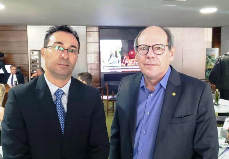 Dimas e Wagner Rodrigues, candidato a prefeito de Araguaína