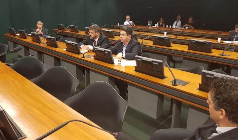 Tiago Dimas na audiência
