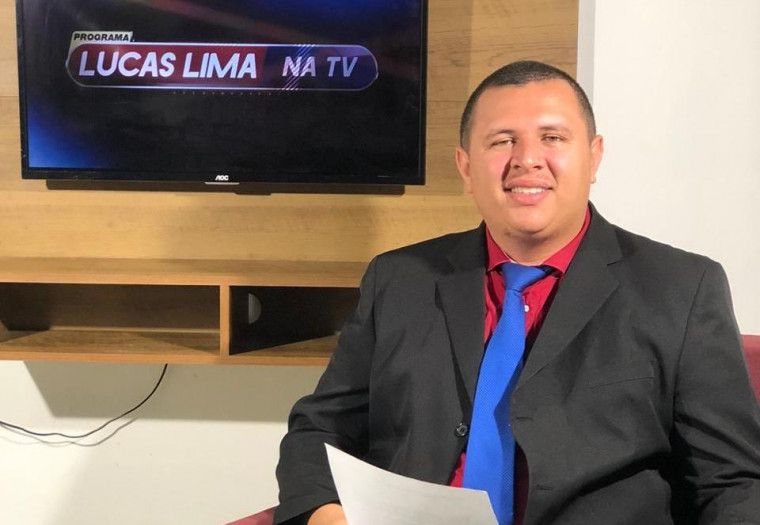 Lucas Lima é apresentador de TV em Araguaína