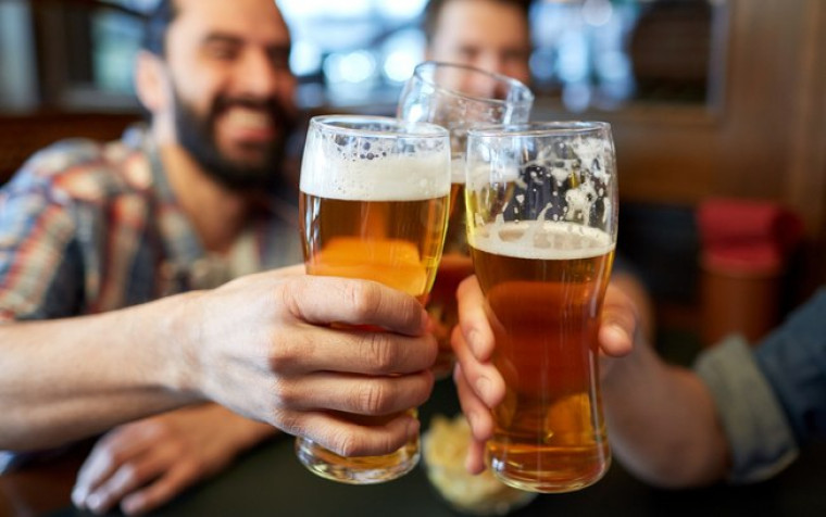 É preciso beber com moderação