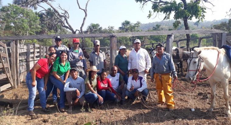 Curso para produtores rurais em Almas (TO)