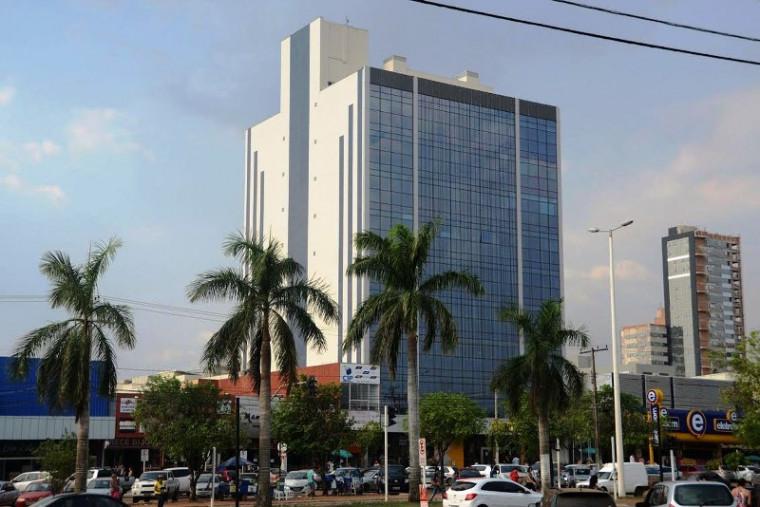 Prédio da Prefeitura de Palmas