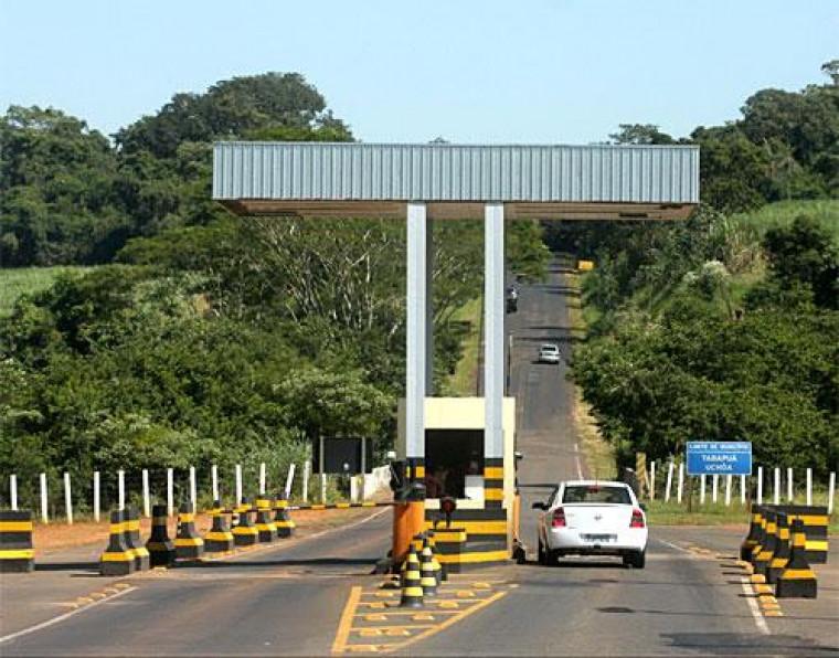 Com rodovias concedidas à iniciativa privada, haverá a cobrança de pedágio