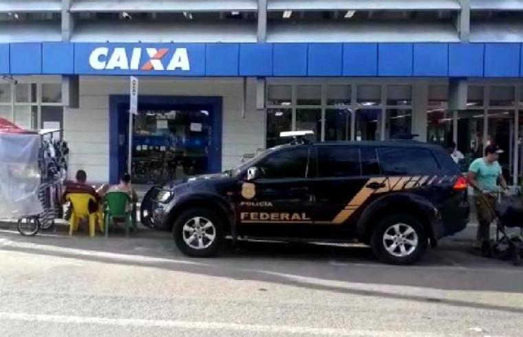 Agência da Caixa furtada em Gurupi