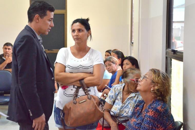 O secretário ouviu pessoalmente as demandas dos pacientes do HGP