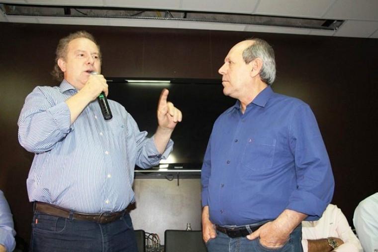 Mauro Carlesse sela rompimento com prefeito Ronaldo Dimas