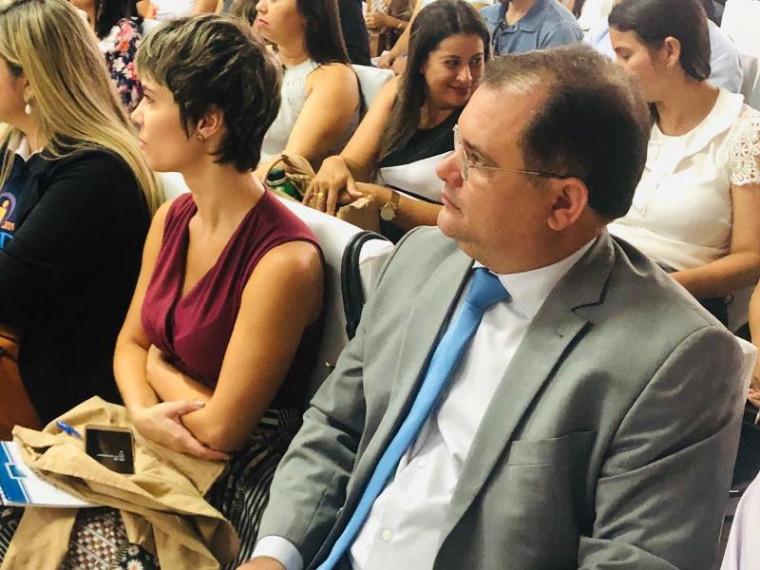 Prefeito de Muricilândia, Alessandro Borges, representou a ATM
