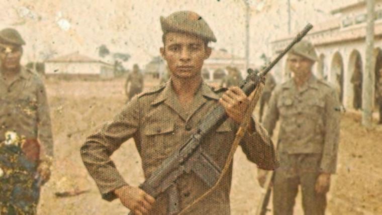 Recrutas do Exército Brasileiro na década de 1970