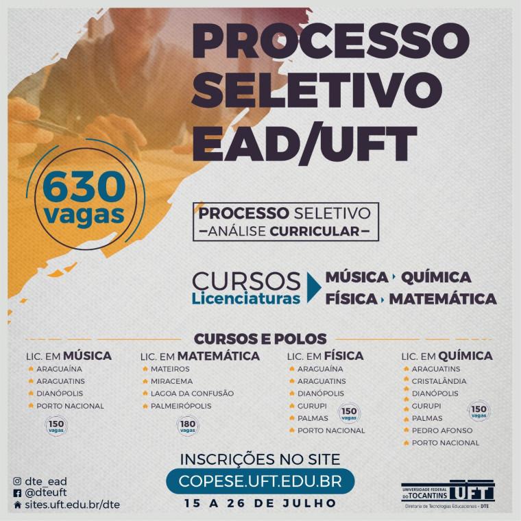 Os cursos serão ofertados em 12 polos no Tocantins