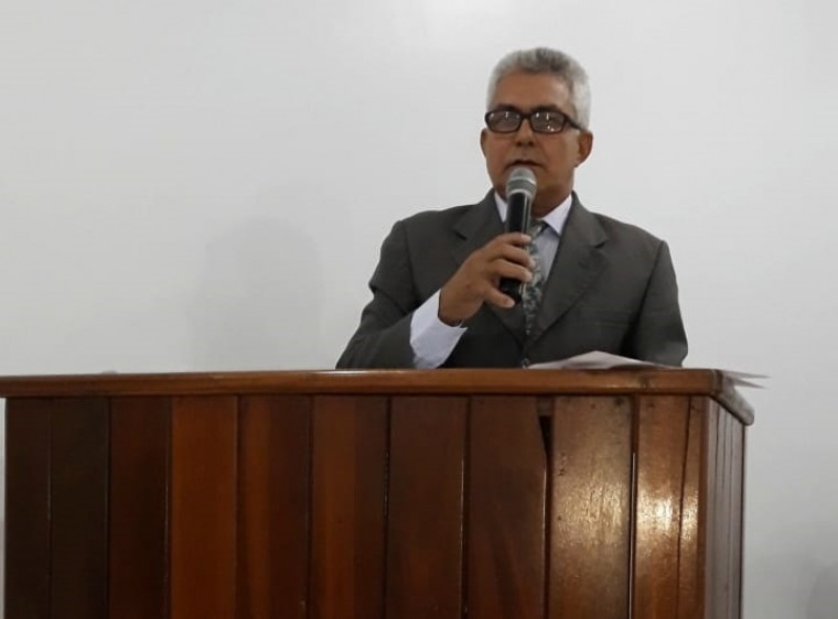 Vereador Antônio da Van, autor do projeto