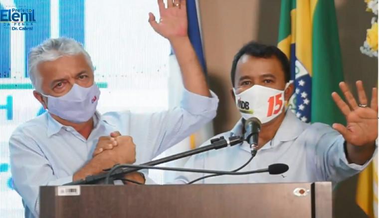 Elenil e Dr. Cabral encabeçam chapa para prefeito e vice de Araguaína