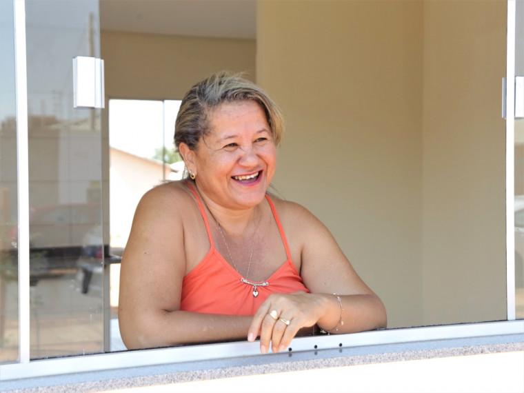 Secretária Solange Campos