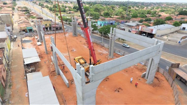 Obras da Nova Feirinha em Araguaína