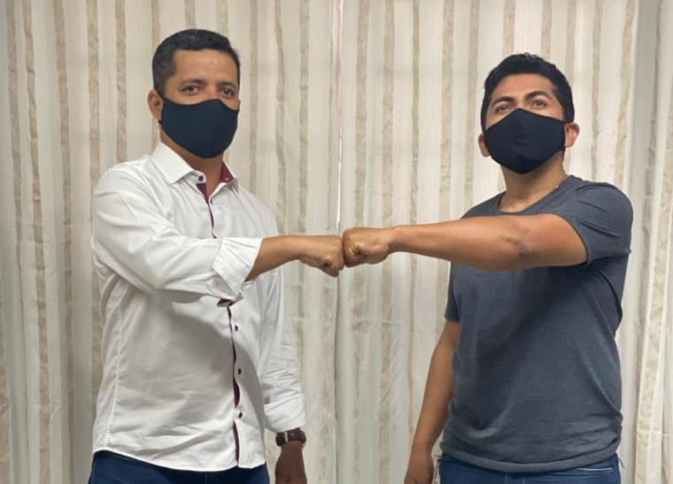 Deputado Jorge Frederico e vereador Carlos Silva