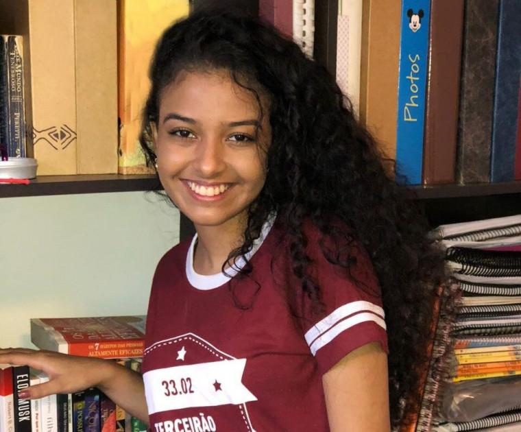 Andressa tem 17 anos e irá cursar direito na Universidade de São Paulo