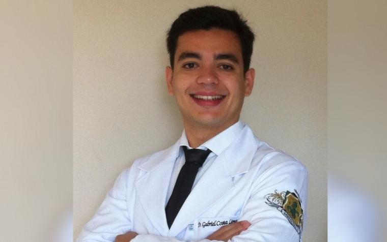 Médico Gabriel Costa Lima, 29 anos, levou pelo menos quatro tiros