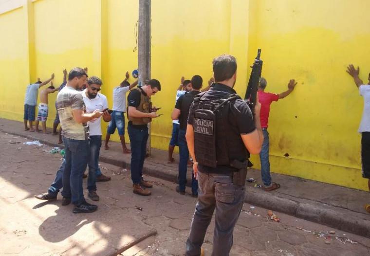 Operação em Araguaína