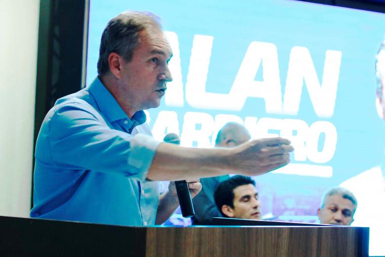 Pré-candidato a prefeito de Palmas Alan Barbiero
