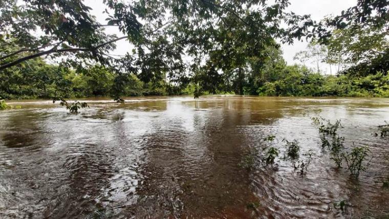 Rio onde o homem morreu afogado