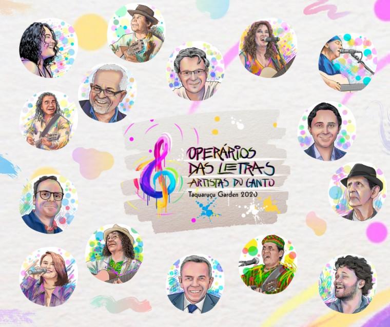 O projeto reúne vários músicos e escritores