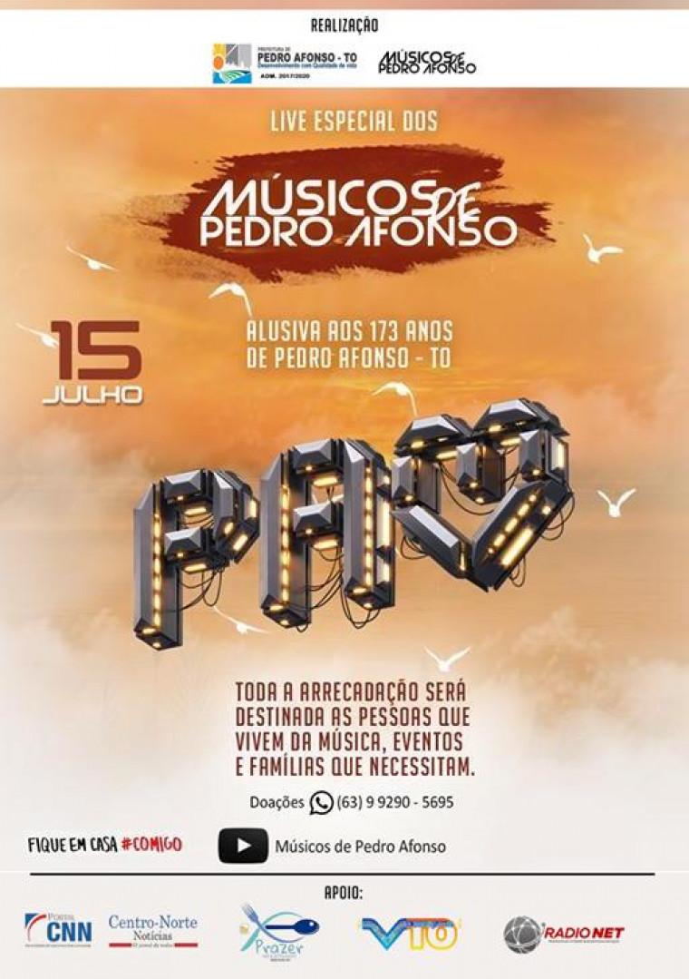 Programação do aniversário de Pedro Afonso