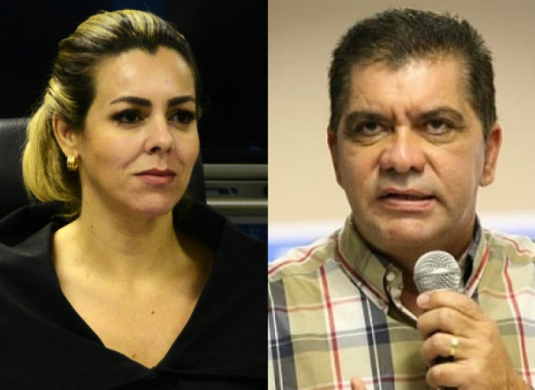 Amastha e Cinthia eram aliados políticos, prefeito e vice eleitos em 2016