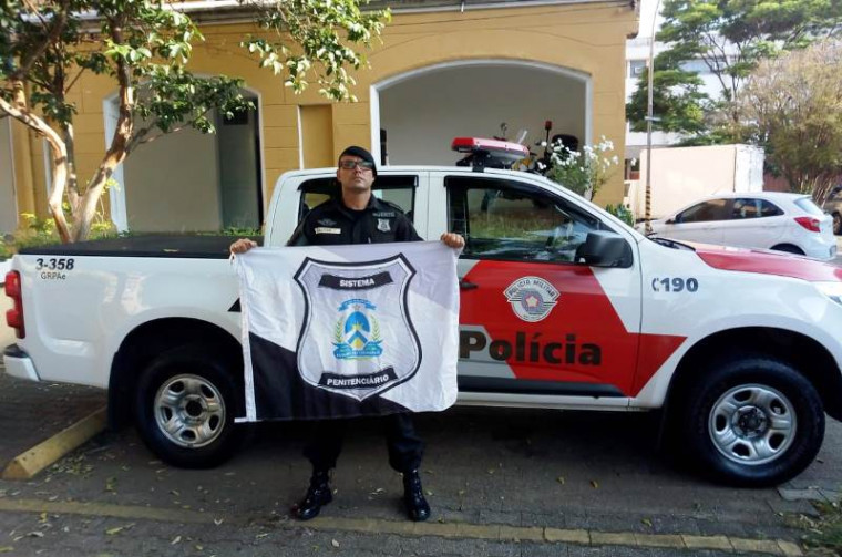 Agente prisional em São Paulo