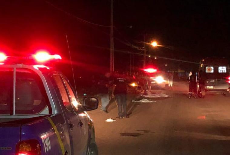 O condutor do veículo, um homem de 40 anos permaneceu no local e foi levado para a delegacia