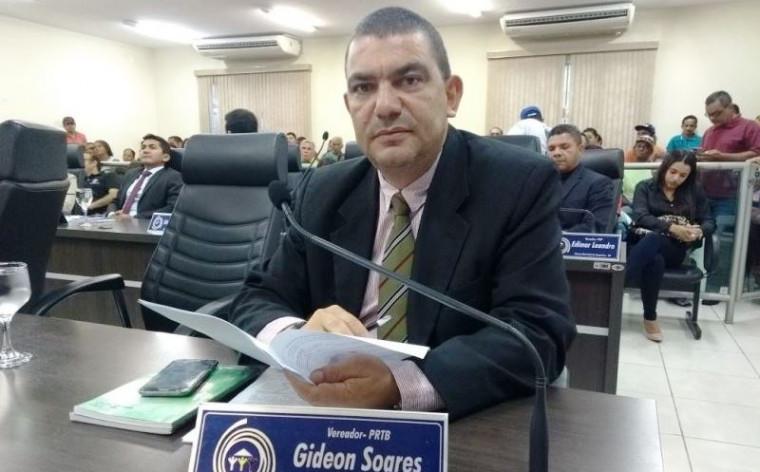 Vereador Gideon Soares
