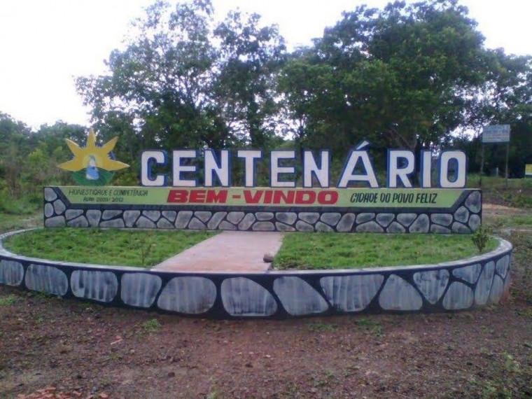 Município de Centenário possui pouco mais de 2,5 mil habitantes