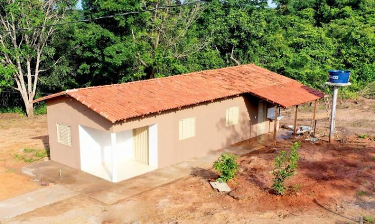 Nova casa que será inaugurada