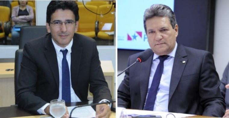 Júnior Geo (esq.) e Osires Damaso