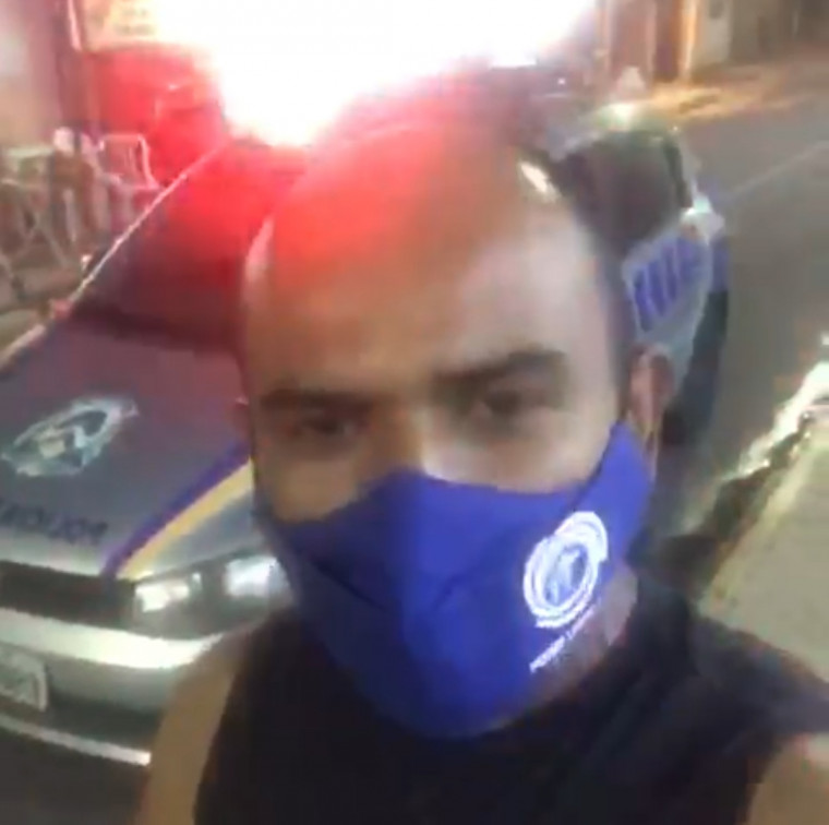 Danilo Alves acionou a PM