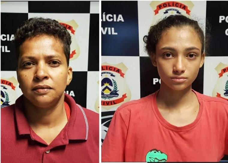 Duas mulheres presas por tráfico de drogas