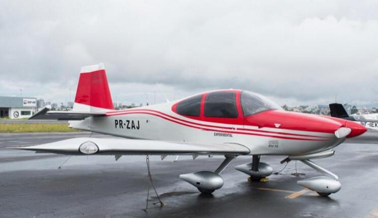Aeronave apreendida pela Polícia Federal