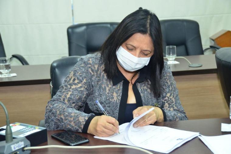 Deputada estadual Valderez Castelo Branco (PP)