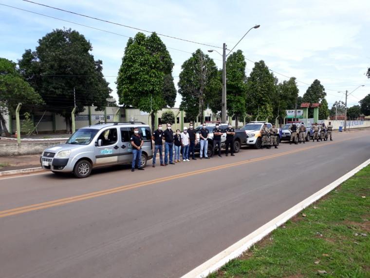 Operação de fiscalização em Guaraí