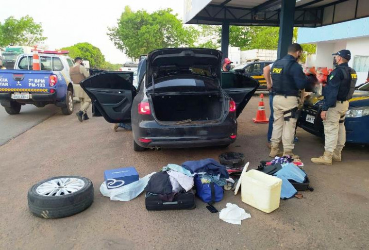 Suspeitos vieram de Manaus