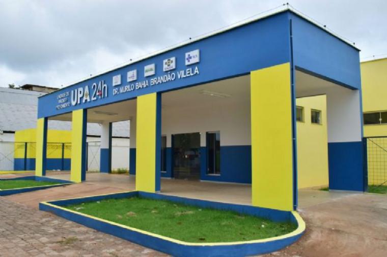 A única UPA 24h em funcionamento em todo o Bico do Papagaio.