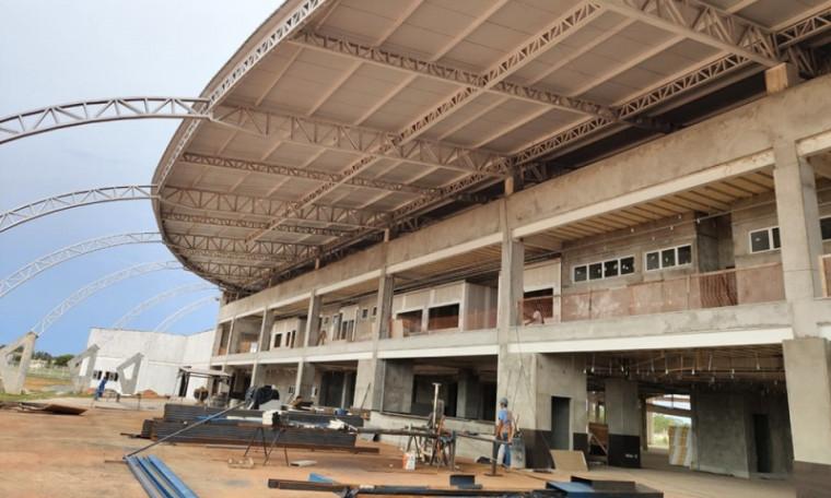 Hospital Geral de Gurupi em construção